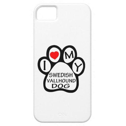 I Love My Swedish Vallhund Dog iPhone 5 Case