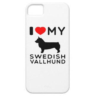 I Love My Swedish Vallhund iPhone 5/5S Case