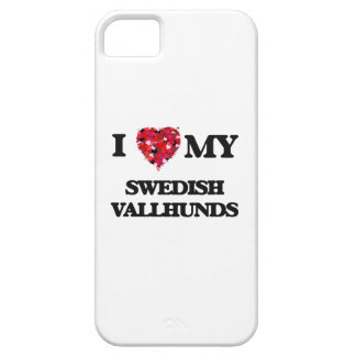 I love my Swedish Vallhunds Barely There iPhone 5 Case