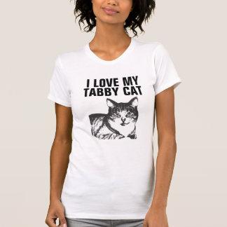 I love my Tabby Cat T-shirts
