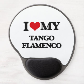 I Love My TANGO FLAMENCO Gel Mouse Pad