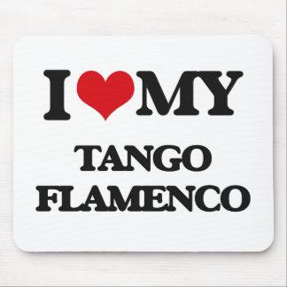 I Love My TANGO FLAMENCO Mouse Pads