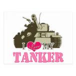 I love my Tanker Postcards