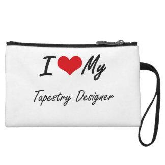 I love my Tapestry Designer Wristlet Clutches