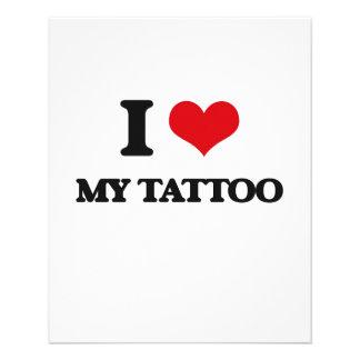 I love My Tattoo Custom Flyer