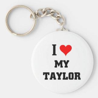I love my Taylor Basic Round Button Key Ring