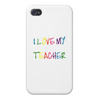 I Love My Teacher thank you iPhone 4/4S Cover