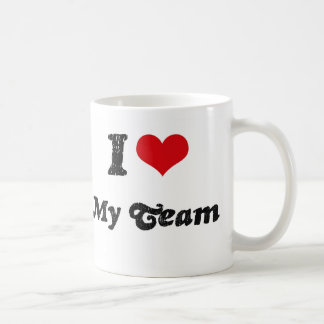 I love My Team Coffee Mug