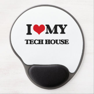 I Love My TECH HOUSE Gel Mousepad
