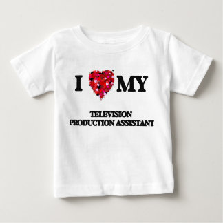 I love my Television Production Assistant T-shirts
