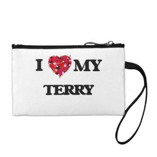 I love my Terry Change Purse