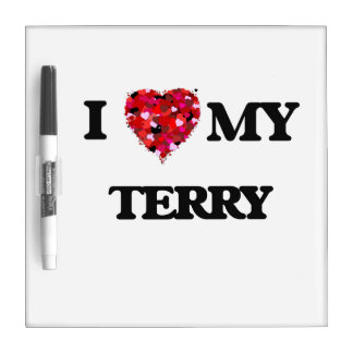 I love my Terry Dry Erase Whiteboard