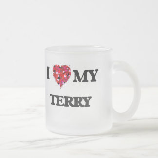 I love my Terry Frosted Glass Mug