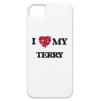 I love my Terry iPhone 5 Cover