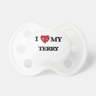 I love my Terry Pacifier