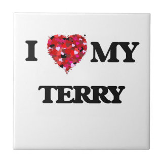 I love my Terry Small Square Tile