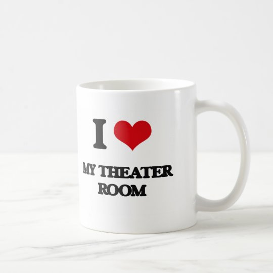 I Love My Theatre Room Coffee Mug