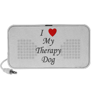 I Love My Therapy Dog Speaker
