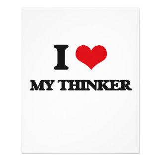 I love My Thinker Custom Flyer
