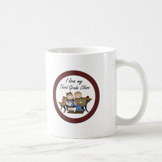 I Love My Third Grade Class Classic White Coffee Mug