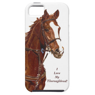 I Love My Thoroughbred! Horse iPhone 5 Case/Cover iPhone 5 Cases