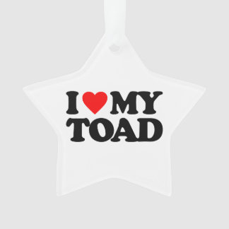 I LOVE MY TOAD