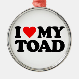 I LOVE MY TOAD ORNAMENT