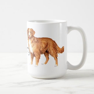 I Love my Toller Classic White Coffee Mug