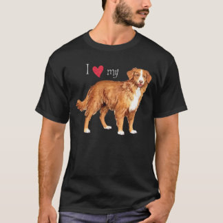 I Love my Toller T-Shirt
