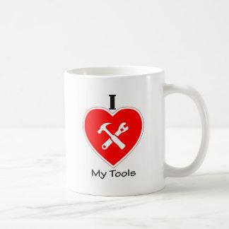 I love my tools basic white mug