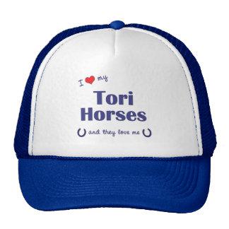 I Love My Tori Horses (Multiple Horses) Mesh Hat