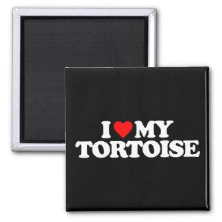 I LOVE MY TORTOISE MAGNETS