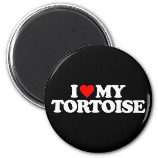I LOVE MY TORTOISE REFRIGERATOR MAGNET