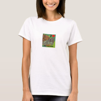 I Love My Tortoise women's T-Shirt