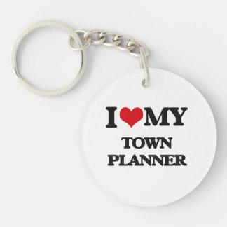 I love my Town Planner Keychain