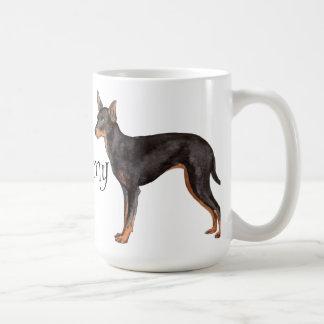 I Love my Toy Manchester Terrier Basic White Mug