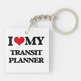 I love my Transit Planner Square Acrylic Keychains