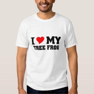 I love my Tree Frog Shirt