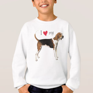 I Love my Treeing Walker Sweatshirt