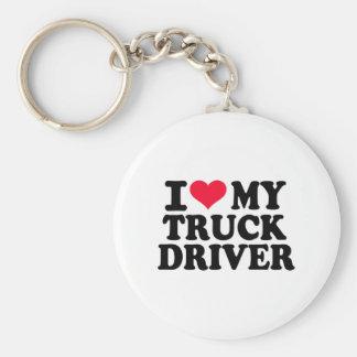 I love my Truck driver Keychain
