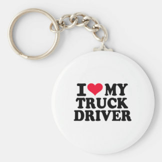 I love my Truck driver Keychains