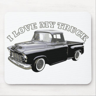 I Love My Truck Mouse Mat