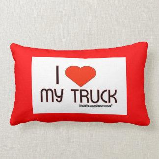 I Love My Truck pillow