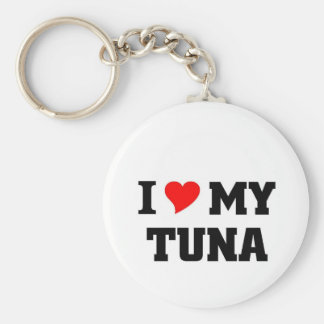 I love my Tuna Basic Round Button Key Ring