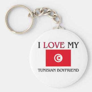 I Love My Tunisian Boyfriend Key Ring