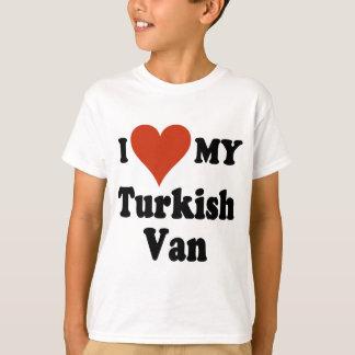 I Love My Turkish Van Cat Tee Shirt