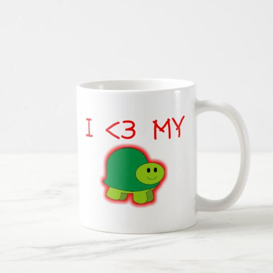 I Love My Turtle Coffee Mug