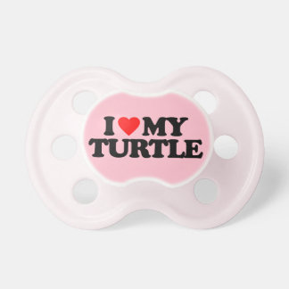 I LOVE MY TURTLE DUMMY
