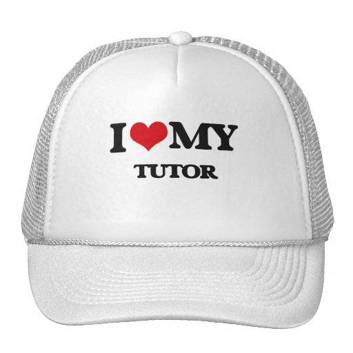 I love my Tutor Trucker Hats