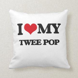 I Love My TWEE POP Pillow